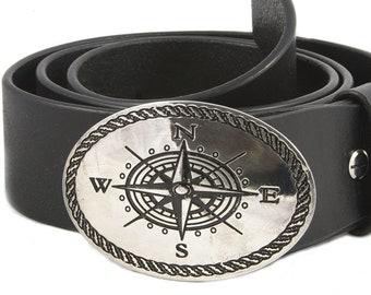 Belt leather pink of twenty silver