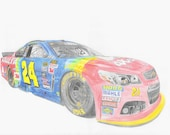 Jeff Gordon in Last ride ...