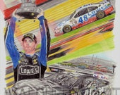 Jimmie Johnson in Print/O...