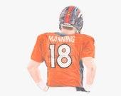 Peytona Manning #18 Denve...