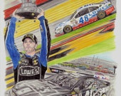 Jimmie Johnson Collage (O...