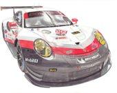 Porsche 911 RSR-IMSA (201...