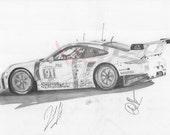 Porsche 911 (2015)-Print...