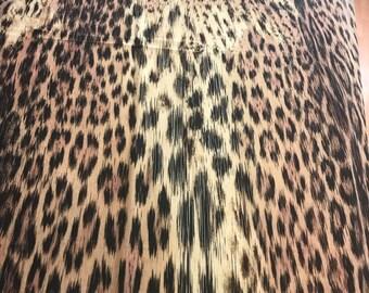 Silk animal print. Stretch silk fabric. Cheetah silk fabric. Leopard silk  fabric. Price for pattern 1.3 m 6a5d35e6f