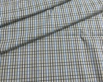 0d2380da2287 Tissu de coton à carreaux en coton beige tissu à carreaux tissu à carreaux.