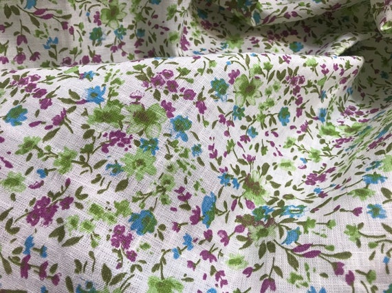 Provence style lin naturelles tissu/petite fleur naturelles lin tissu lin lin tissu/provence fleur tissu lin/lin en tissu avec petite fleur. Pric df0ad9