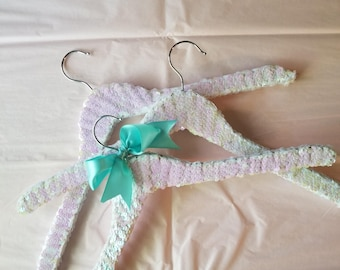 White Sequin Hanger