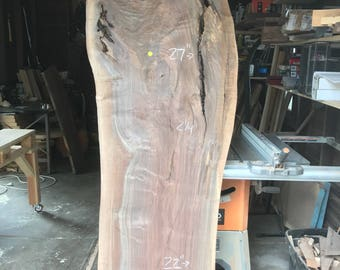Pick Your Slab! Live Edge Claro Walnut, American Black Walnut, and Elm Slabs for Your Custom Piece of Furniture