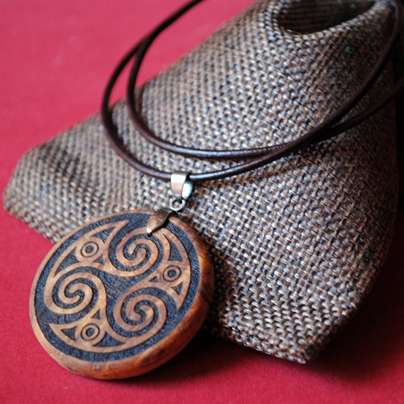 Triskel. Protective amulet. Talisman. Wicca. Pagan. Luck. image 0