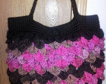 Custom crocheted purse, colors of your choosing!