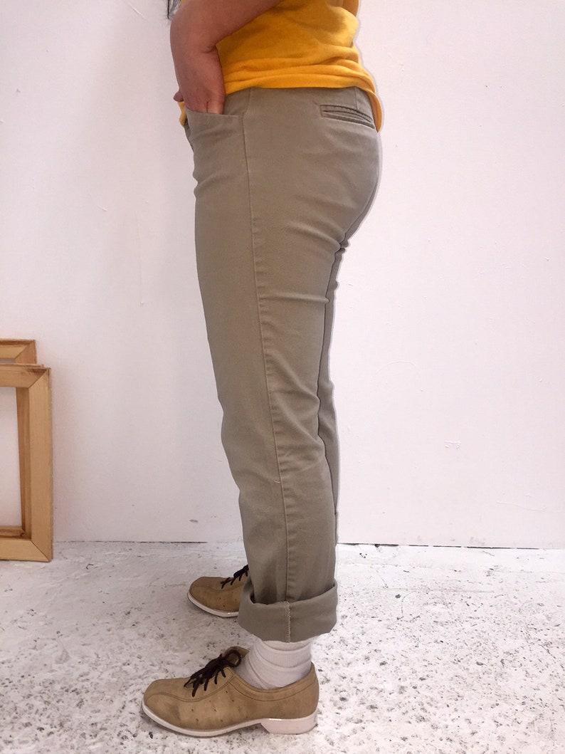 90s Khaki Tan Slim Fit Women/'s Dickies Size 3