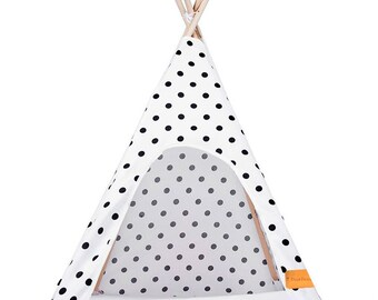 Tipi dog black spots