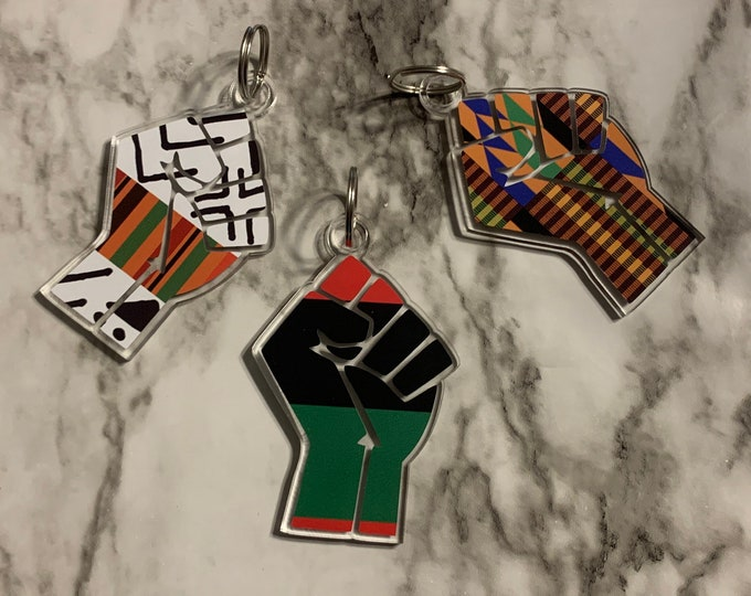 BLM Fist Keychain (Special Edition)