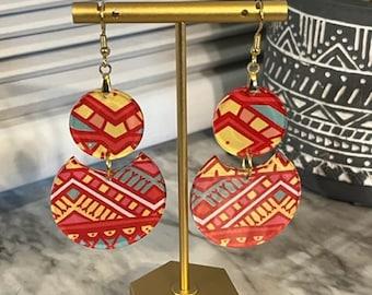 Bri Acrylic Statement Earrings