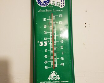 Rolling Rock Thermometer