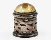 pill box jewelry sterling silver 925 pill case mini secret locket pendant edc stash necklace burning man jewelry