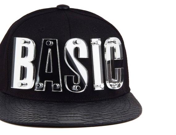Custom Snapback alphabet initial snapback basic snapback  b61833eb65a