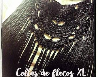 XL/FLAMENCO Fringe necklace
