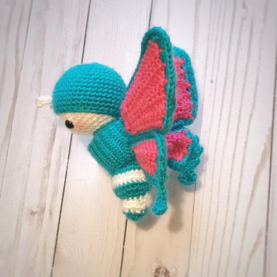 Schmetterling Amigurumi Butterfly Schmetterling häkeln   Etsy