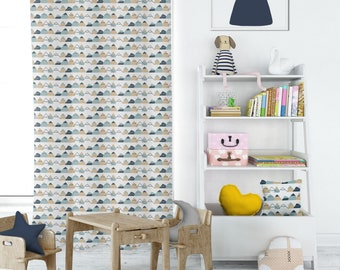 Mountain High Playroom Curtains, Kids Room Curtains, Childrens Window  Curtains, Drapery Panels, Childrens Curtains, Cute Curtains   2 Panels
