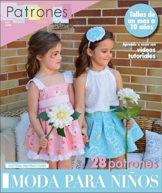 REVISTA COSTURA Patrones Infantiles edicion 4 primavera   Etsy