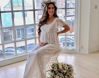 8c7a9874cb Boho maternity dress