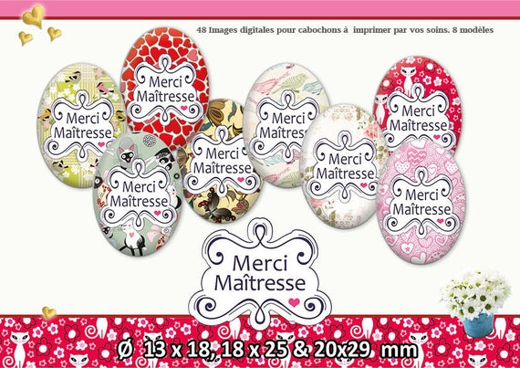 Thank You Teacher 13 X 18 18 X 25 20 X 29 Board Of Digital Images For Cabochon For Jewelry 17070 13 X 18 18 X 25 20 X 29
