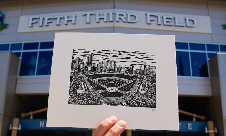 Toledo Mud Hens Fifth Third Field Print