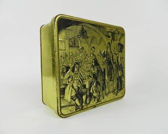 Coffee tin box