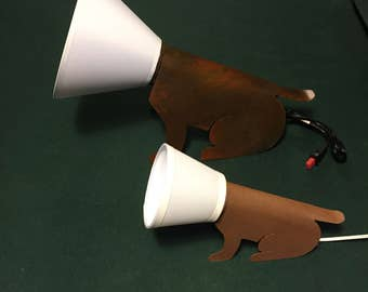 Dog Cone Lamp, two sizes