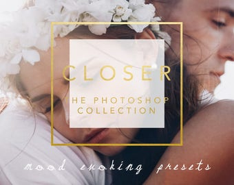 50 Fine Art Moody Photoshop ACR Filters for Weddings And Portraiture The Closer Photoshop Collection for Modern Photographers