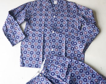 Never Been Worn 1980s Mens Flannelette PJ's,  Vintage Pyjamas, Mens Vintage, Lazy Day Vintage, Size S, Hipster, New Zealand, Winter Pj's, D