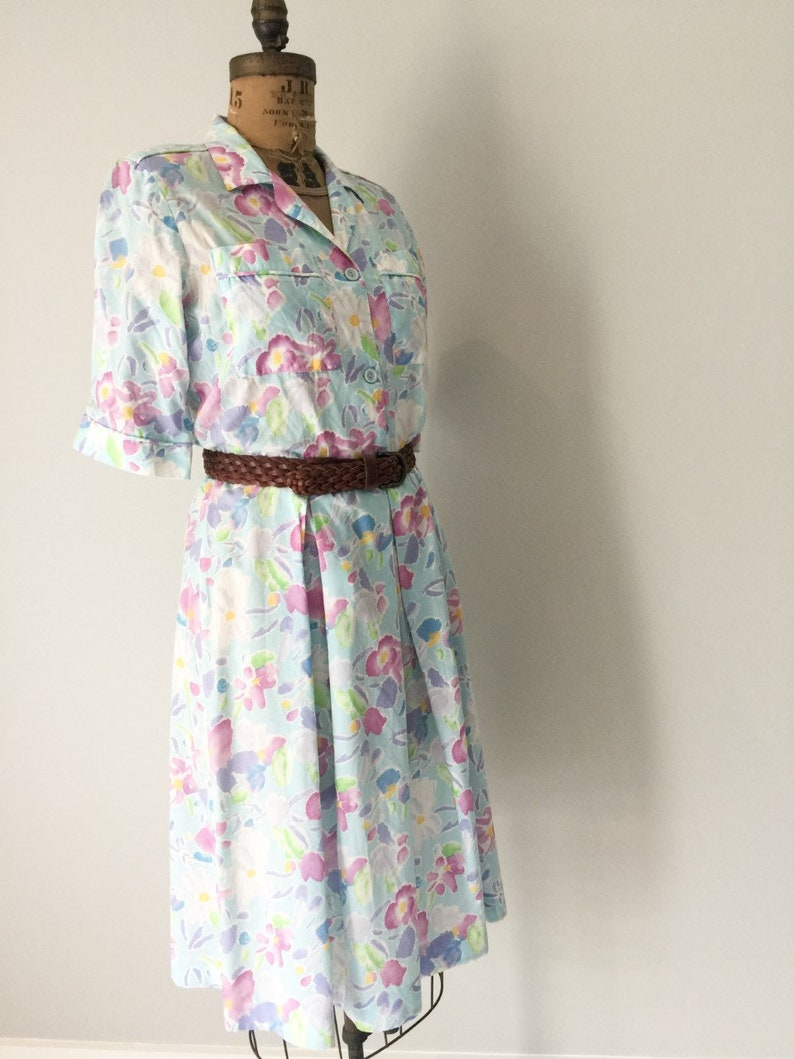 02aa5732960e Pastel Summer Dress Garden Party Sundress New Zealand   Etsy