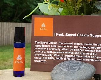I Feel... Sacral Chakra Essential Oil Blend