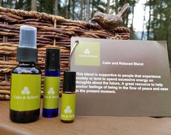 Calm & Relaxed Essential Oil Blend
