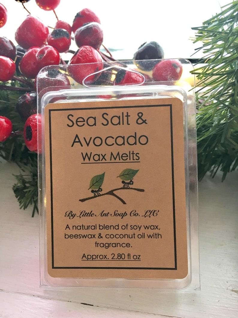 Sea Salt /& Avocado Natural Wax Melts