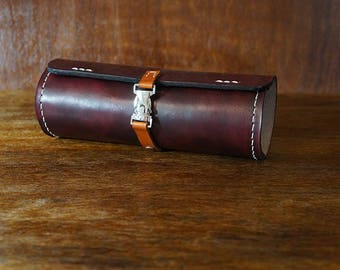 Leather Pencil Case, Artist Roll, Tool Pouch, Artist Case