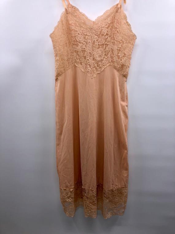 Vintage Coral Pink Slip