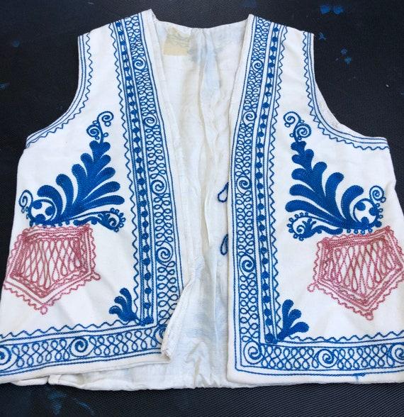 Vintage 1940's True Bohemian Vest