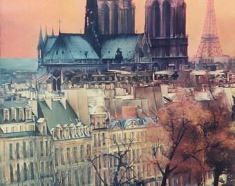 Paris.  Oil on canvas