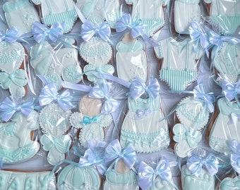 Customised baby shower cookies 2 dozen