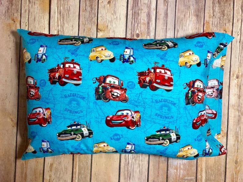 Disney Cars Travel Pillow Casetravel Pillowcasetravel Pillow Etsy