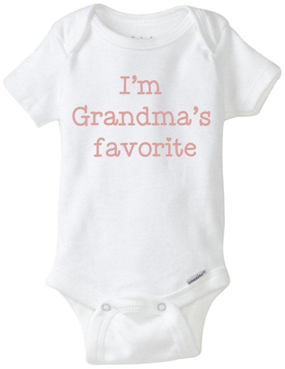 Today I/'m Grandma/'s Problem Baby Bodysuit New Baby onesie Grandma Gift Cute Grandma Onesie New Grandma Gift Cute Baby Snapsuit