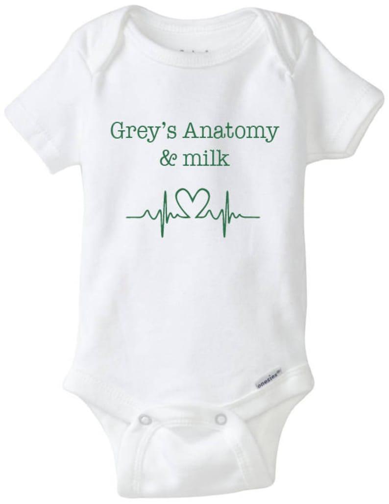 129517cf8 Grey s anatomy   milk onesie grey anatomy bodysuit tv