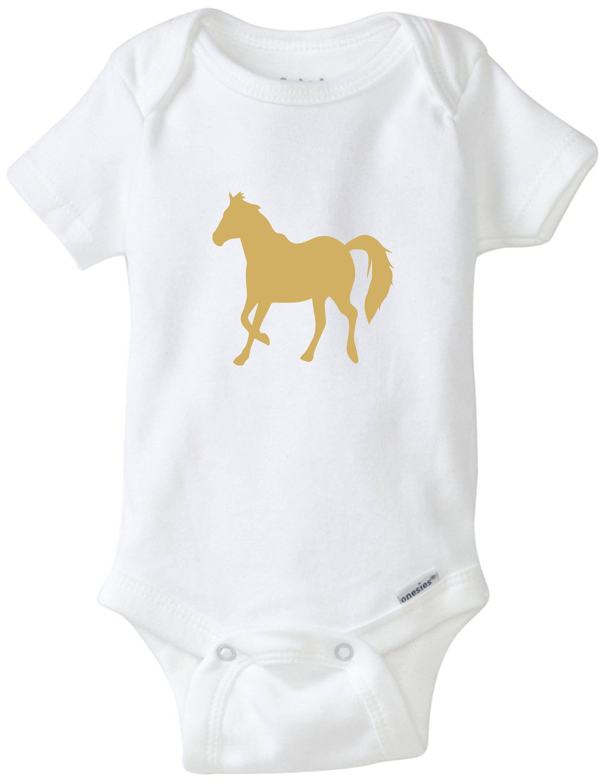 06d977bcda75 Horse baby shirt pony onesie horse riding baby bodysuit