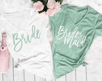 Bridesmaid Shirts, Bridesmaid Proposal, Bridesmaid Gift, Maid of Honor Shirt, Bridal Party Shirt, Bachelorette Party Shirt, Getting Ready