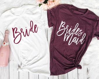 e9527bc57410c Bridesmaid Shirts, Bridesmaid Proposal, Bachelorette Party Shirts, Maid of  Honor Shirt, Bridal Party Shirt, Bridesmaid Gift, Bridesmaid Tank