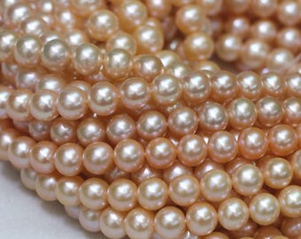 10-11mm pink round freshwater pearls,round pearl strings, pearl necklace pearl,high lustrous pearl.