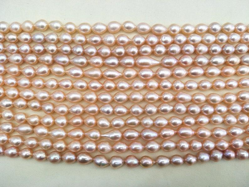 4193c3e4b33b 9-10mm arroz perlas perla de agua dulce perla del arroz trigo