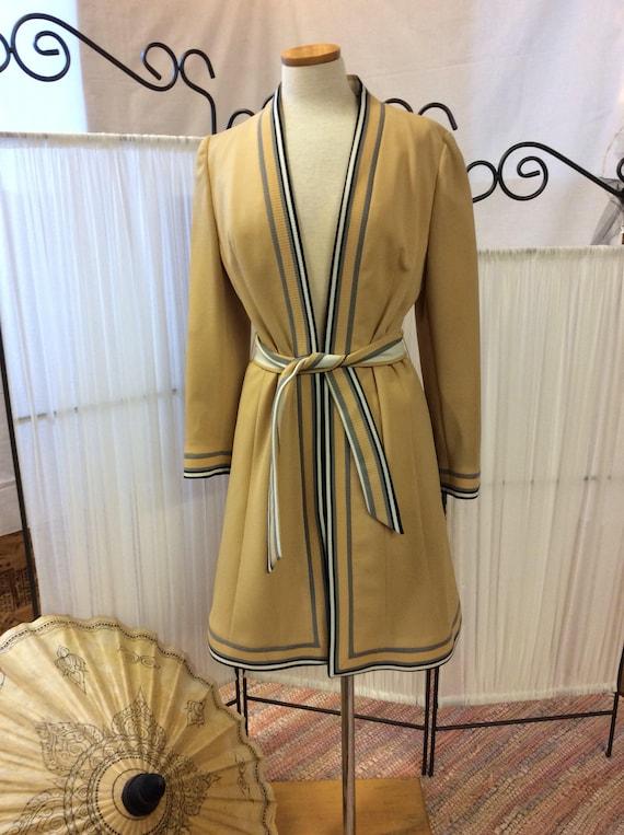 1960's Lilli Ann Knit Coat, unusual Lilli Ann, spo